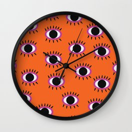 Seeing Eyes Wall Clock