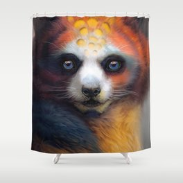 Exotic Fox Shower Curtain