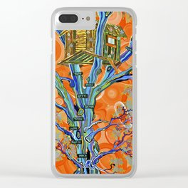 """The Family Treehouse"" by ICA PAVON Clear iPhone Case"