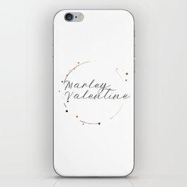 Marley Valentine iPhone Skin