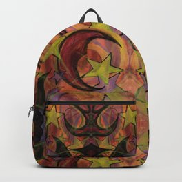 Night Sky in Autumn Backpack