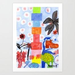 Shoe Tree Art Print