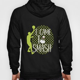 Badminton Saying   Badminton Smash Hoody