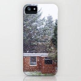 Neve em Londres - 5 iPhone Case
