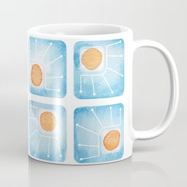 Watecolor Squares Coffee Mug