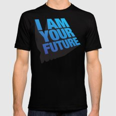 I am Your Future! MEDIUM Mens Fitted Tee Black