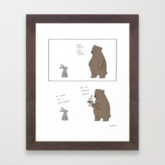 Smart Phone  Framed Art Print