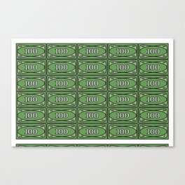 Printing LEGO® Money I Canvas Print