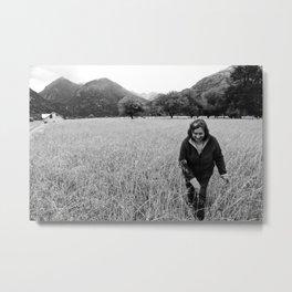 Bernardina: Weaver of Patagonia Metal Print