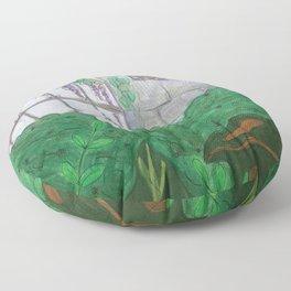 Over the Garden Wall Floor Pillow