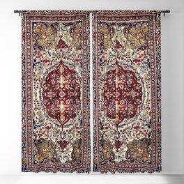 Tehran North Persian Carpet Print Blackout Curtain