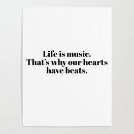 life is music Poster