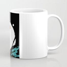 Green Eyeshadow  Coffee Mug