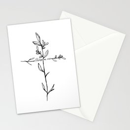 Philippians 4:13 Cross Stationery Cards