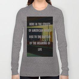 New York City Nighthawks Long Sleeve T-shirt