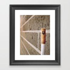 Le'Cigarette Framed Art Print