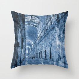 Wailing Banshee Prison Throw Pillow
