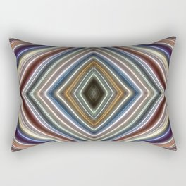 Wild Wavy Diamonds 04 Rectangular Pillow