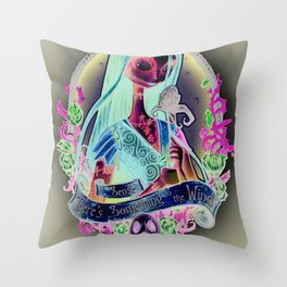 """""""Something In the Wind"""" Throw Pillow"""