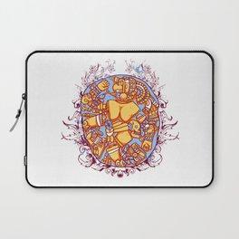 Inca design - Mayan Pinup Simbols Laptop Sleeve