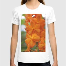 Orange Orchids T-shirt