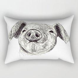 Baby Animals - Pig Rectangular Pillow