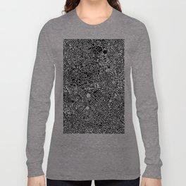 Cell Pattern Long Sleeve T-shirt
