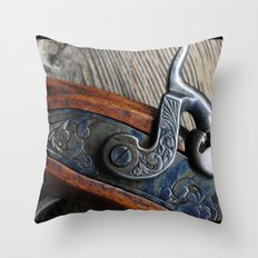 BlackPowder Throw Pillow