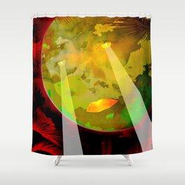Moon Power / Portrait 24-09-16 Shower Curtain