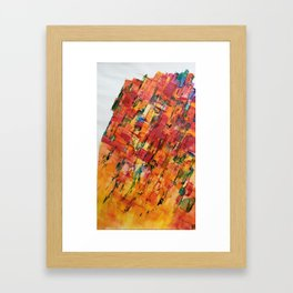Chemins de vie Framed Art Print