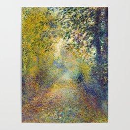 "Auguste Renoir  ""In the Woods"" Poster"