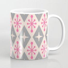 Mid Century Modern Atomic Triangle Pattern 115 Coffee Mug
