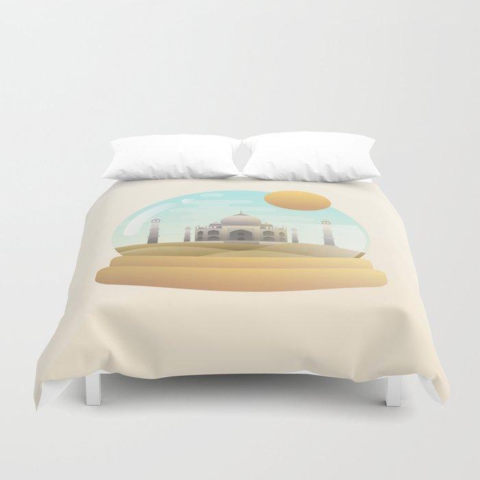 Sand Globe Duvet Cover