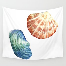 Colorful Shells Wall Tapestry