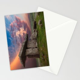 Poulnabrone Dolmen Sunset Stationery Cards