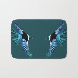New Zealand Birds - The Tui Bath Mat
