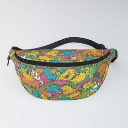 Crocodile party Fanny Pack