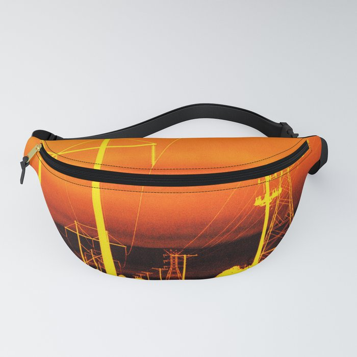 Electric orange Fanny Pack