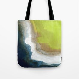 Surf Abstraction Tote Bag