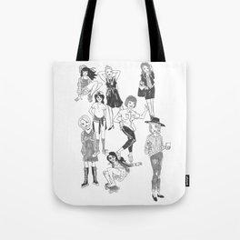 Sydney Girls Tote Bag
