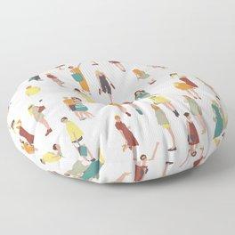 Ladies Floor Pillow