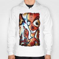 graffiti Hoodies featuring Graffiti by Fine2art