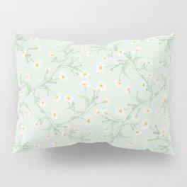 Oxeye (Mint) Pillow Sham