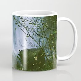 Waterfalls. Flowers. Nature. Coffee Mug