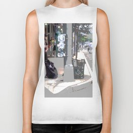 """Getting a Ride"" Biker Tank"
