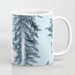 Botanical Pattern 6 (blue) Coffee Mug
