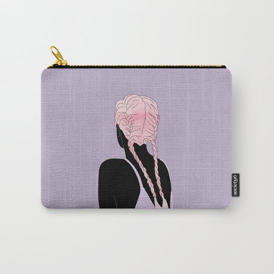 Braids Carry-All Pouch