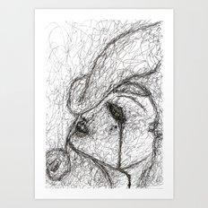 In The Dark Of It Art Print