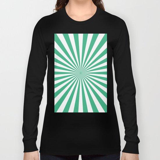 Starburst (Mint/White) Long Sleeve T-shirt