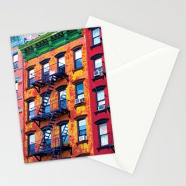New York Facades Stationery Cards
